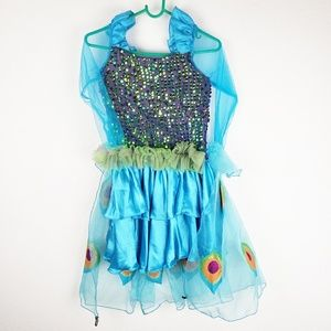 Other - Girls Large Sz 10 Peacock Costume Dress